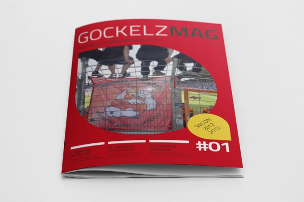 Ausgabe #1 des GOCKELMAG