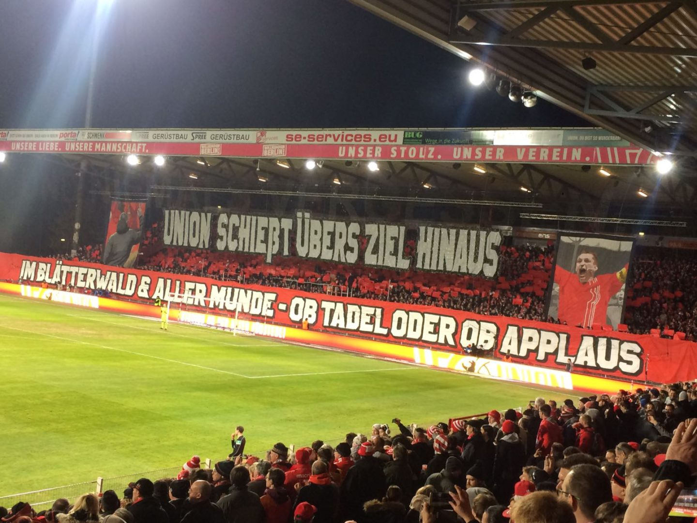 1fc Union Vs Würzburger Kickers 23 Spieltag 20162017 Gockelz